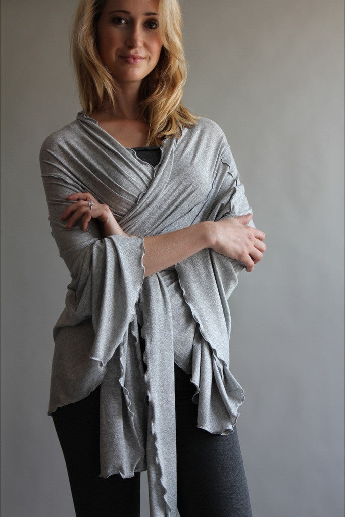 the wrap by angelrox in pewter as kimono
