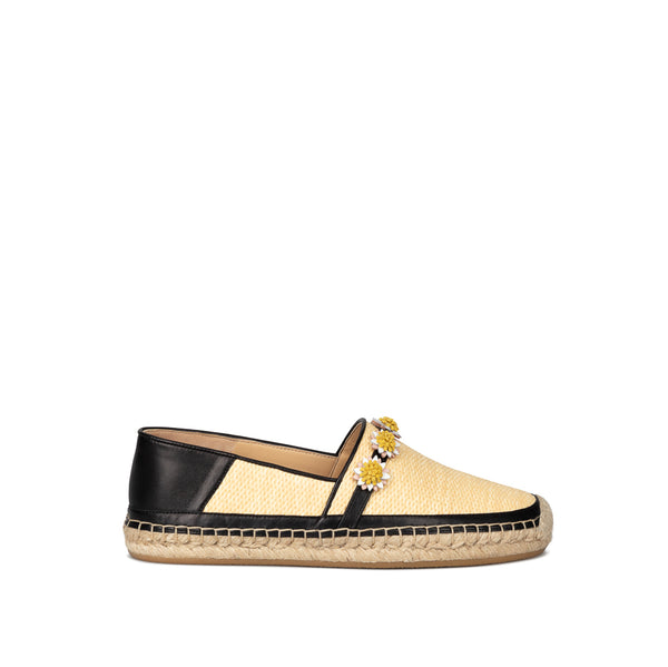 Catania Flat Espadrille - Natural