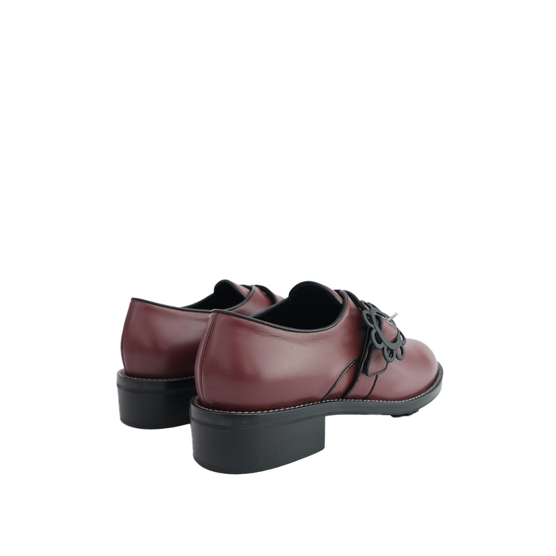 Daisy Buckle Brogue - Bordeaux