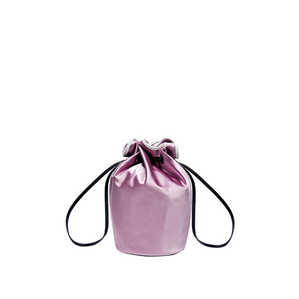 Miss Daisy Satin Pouch - Lilac