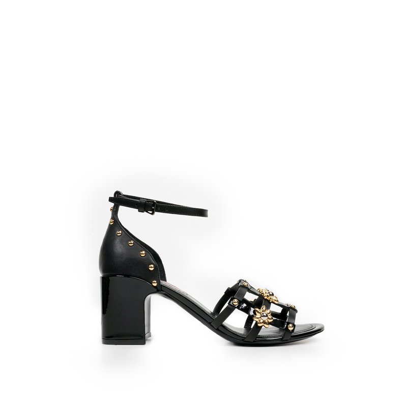 Sofia Block Heel - Black