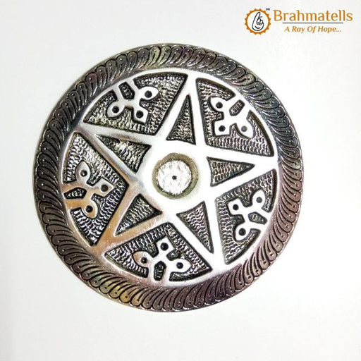 Small Pentagram Spell Candle Holder - BrahmatellsStore