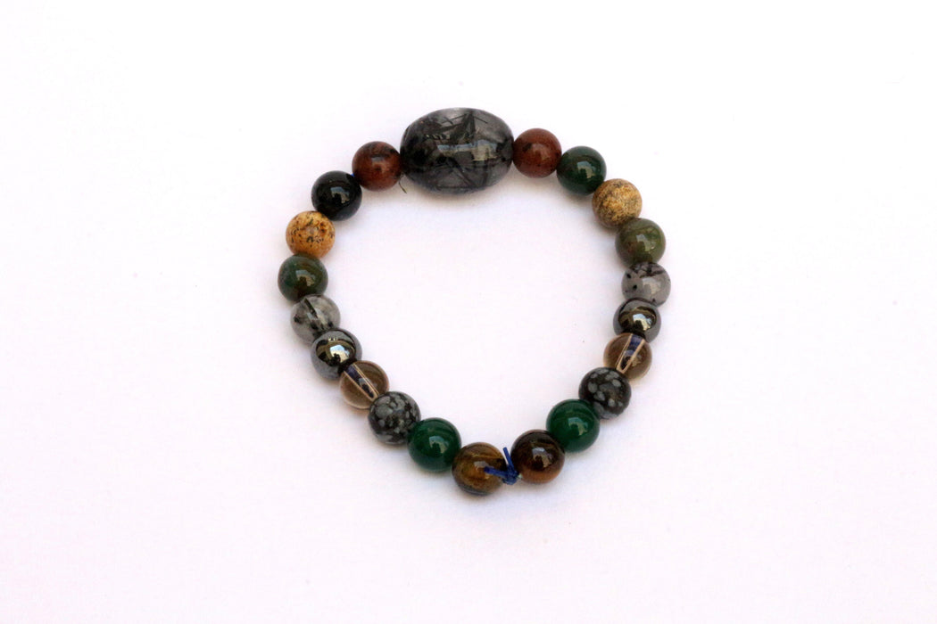 Crystal Bracelet For Grounding & Stability - BrahmatellsStore
