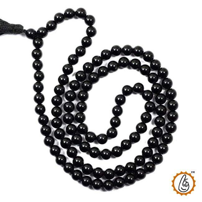 Black Tourmaline 109 Beads 8MM