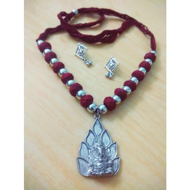 Ganesha Jewellery Set - BrahmatellsStore