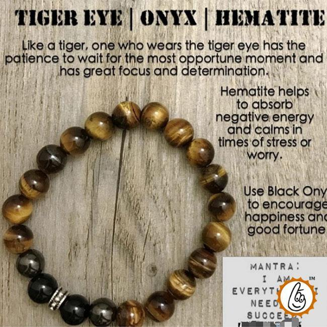 Tiger Eye Mixed Bracelet