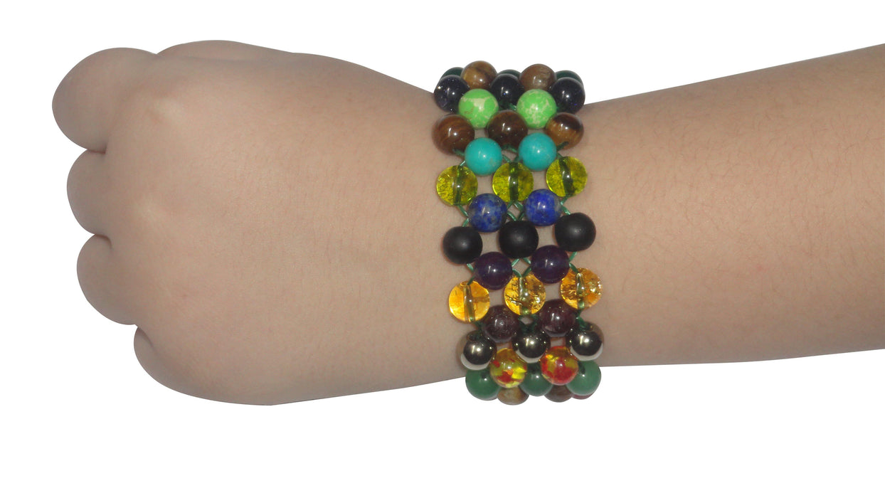 Money & Prosperity Bracelet Triple Layer - BrahmatellsStore