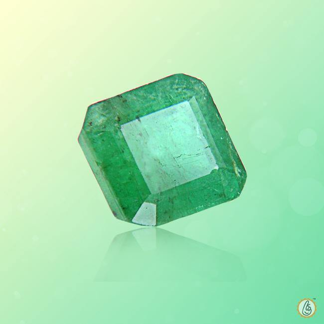 Emerald radiant-light-yellow green BTE102GSM - BrahmatellsStore