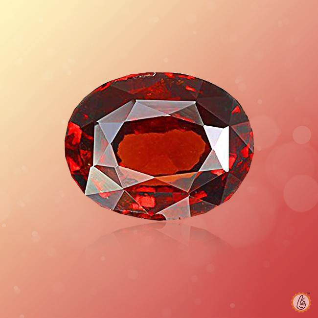 Hessonite Gomed oval BTHG110GSM - BrahmatellsStore