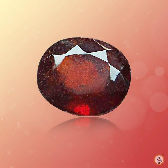 Hessonite Gomed cushion BTHG122GSM - BrahmatellsStore
