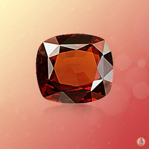 Hessonite Gomed dark-brown-cushion BTHG127GSM
