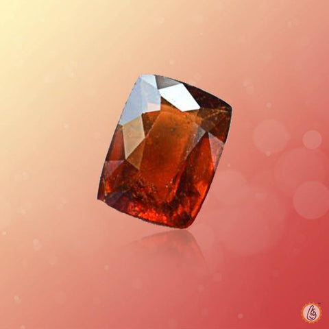 Hessonite Gomed Rectangle-dark-brown BTHG130GSM