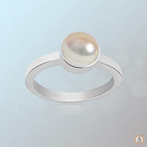 Pearl cream rose-light-ring BTP113RSM - BrahmatellsStore