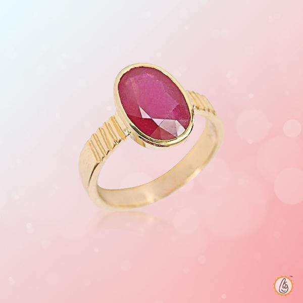 Ruby Manak oval-natural-ring BTR131RSM