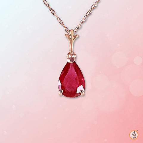 Ruby Manak pear-drop-rose-pendant BTR149PSM