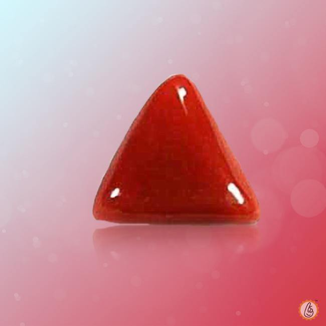 Red Coral triangle-deep-red  BTRC103GSM - BrahmatellsStore