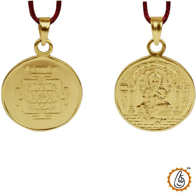 Shree-ganesh-yantra-locket - BrahmatellsStore