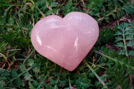 Rose Quartz Heart - BrahmatellsStore