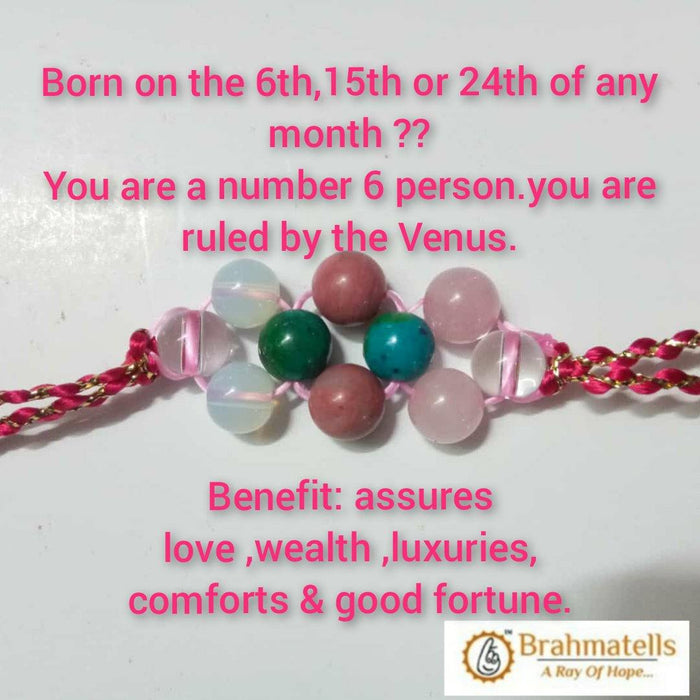 Ruling Number 6 Numerology Band - BrahmatellsStore