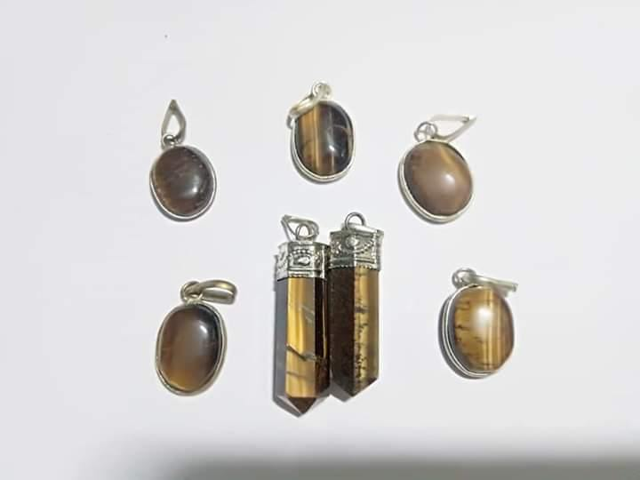 Tiger Eye Pendant - BrahmatellsStore