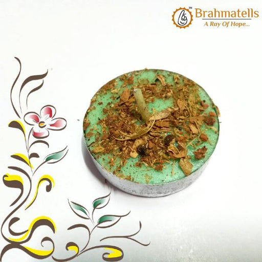Green Tea Light Candle - BrahmatellsStore