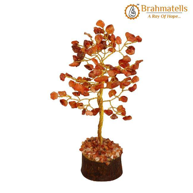 Carnelian Crystal Wishing Tree