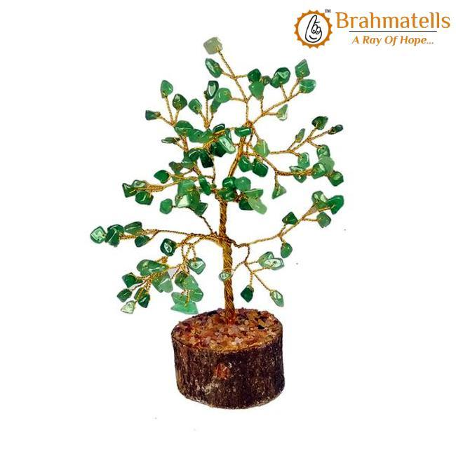 Green Aventurine Crystal Wishing Tree - BrahmatellsStore