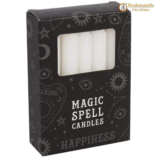 White Healing Spell Candle Pack of 10 - BrahmatellsStore