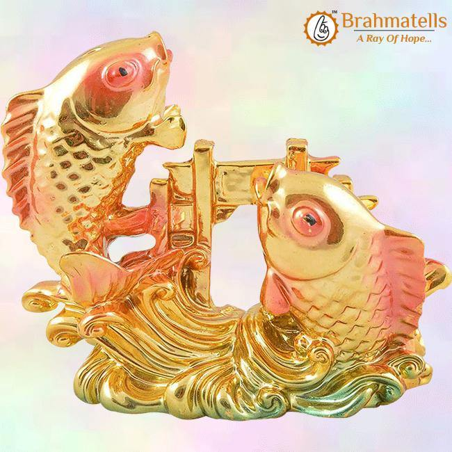 Vastu Feng Shui Colorful Fish For Good Luck And Prosperity - BrahmatellsStore
