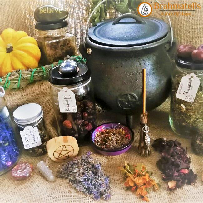 Elemental Protection: Home-Cleanse Spell with Salt - BrahmatellsStore