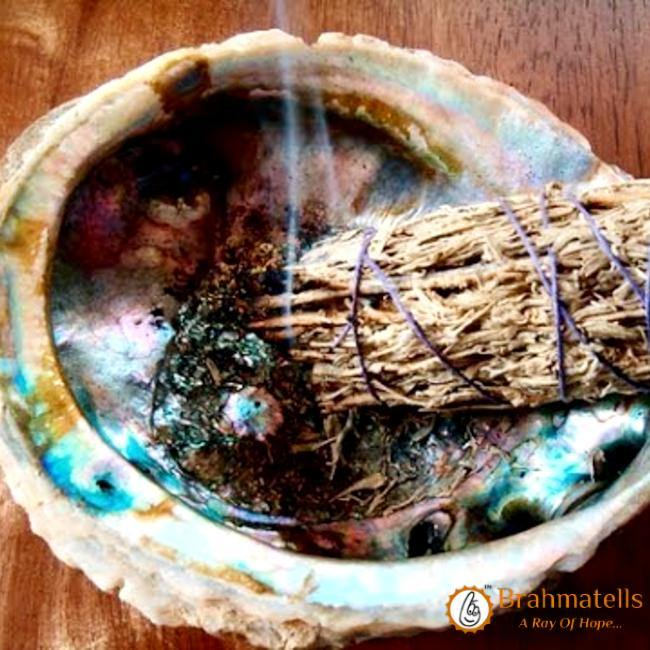 'Shaman Blessing': Protection Spell with Sage