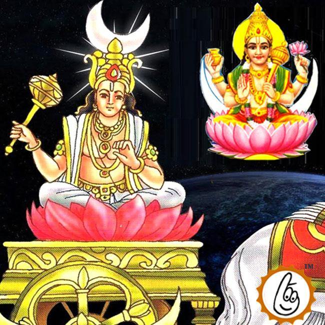 Chandra - Moon - Grah Puja Mantra Japa and Yagna