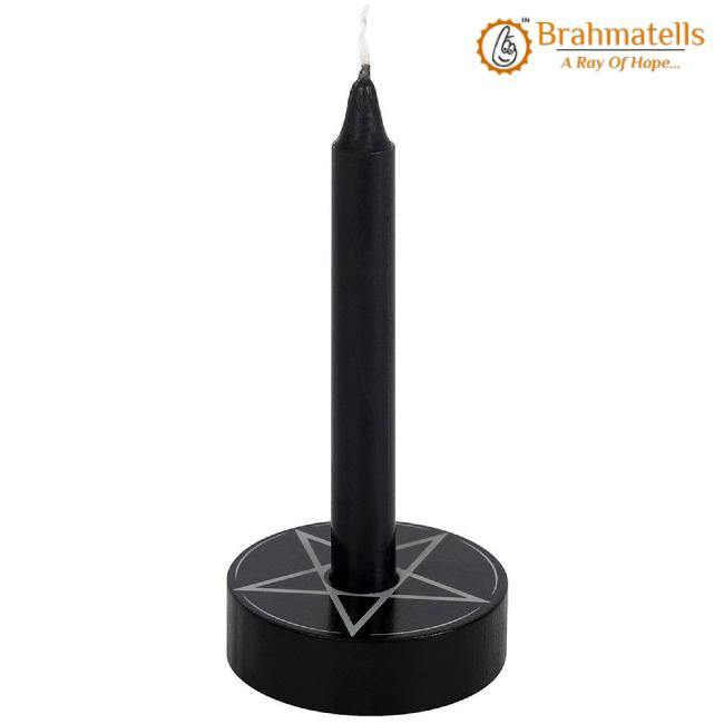 Black Protection Spell Candle set of 10 - BrahmatellsStore