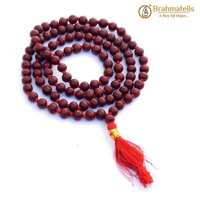 Red Chandan Jaap Mala - BrahmatellsStore