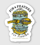 Fin & Feather Decal