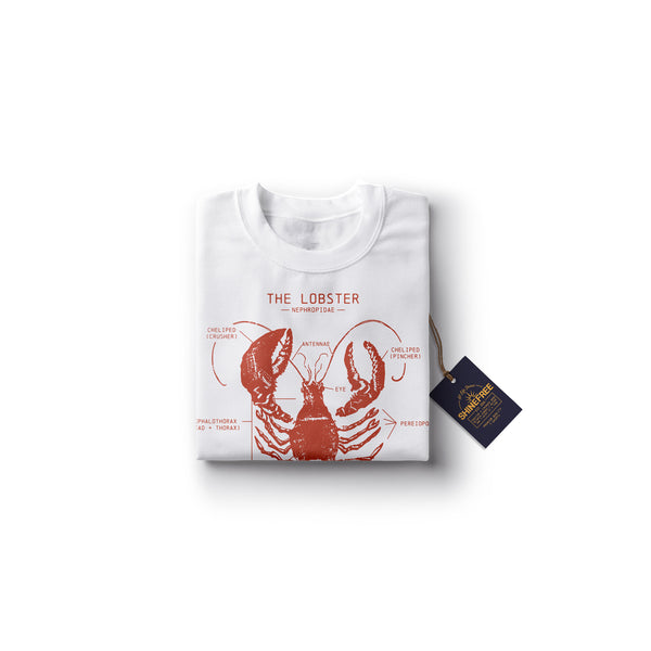 Lobster Anatomy t-shirt