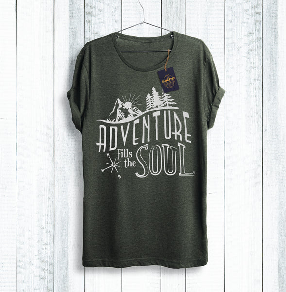 Adventure Fills the Soul t-shirt