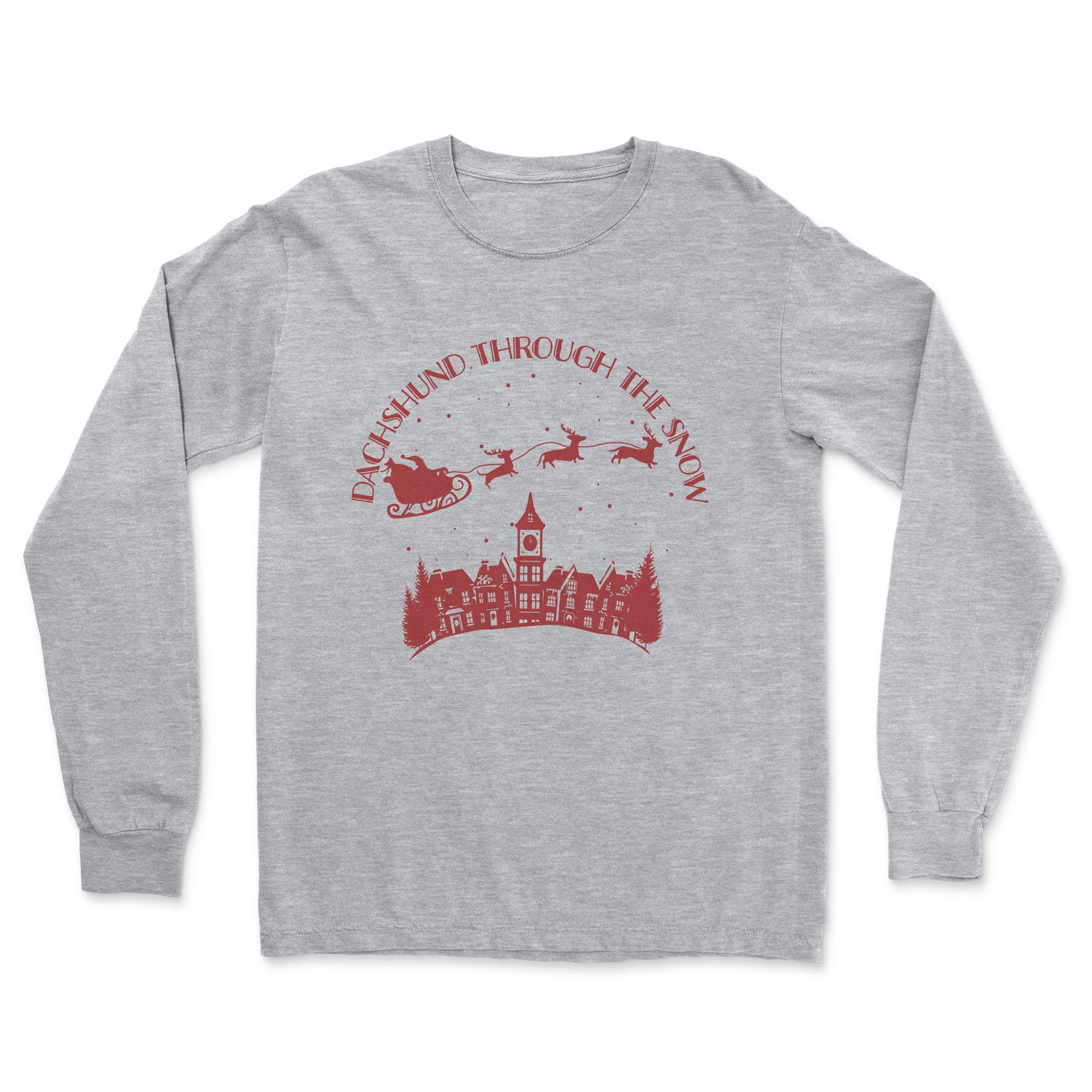 Dachshund Through the Snow - Long Sleeve