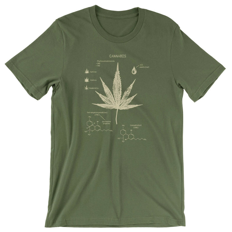 Cannabis Illustration t-shirt