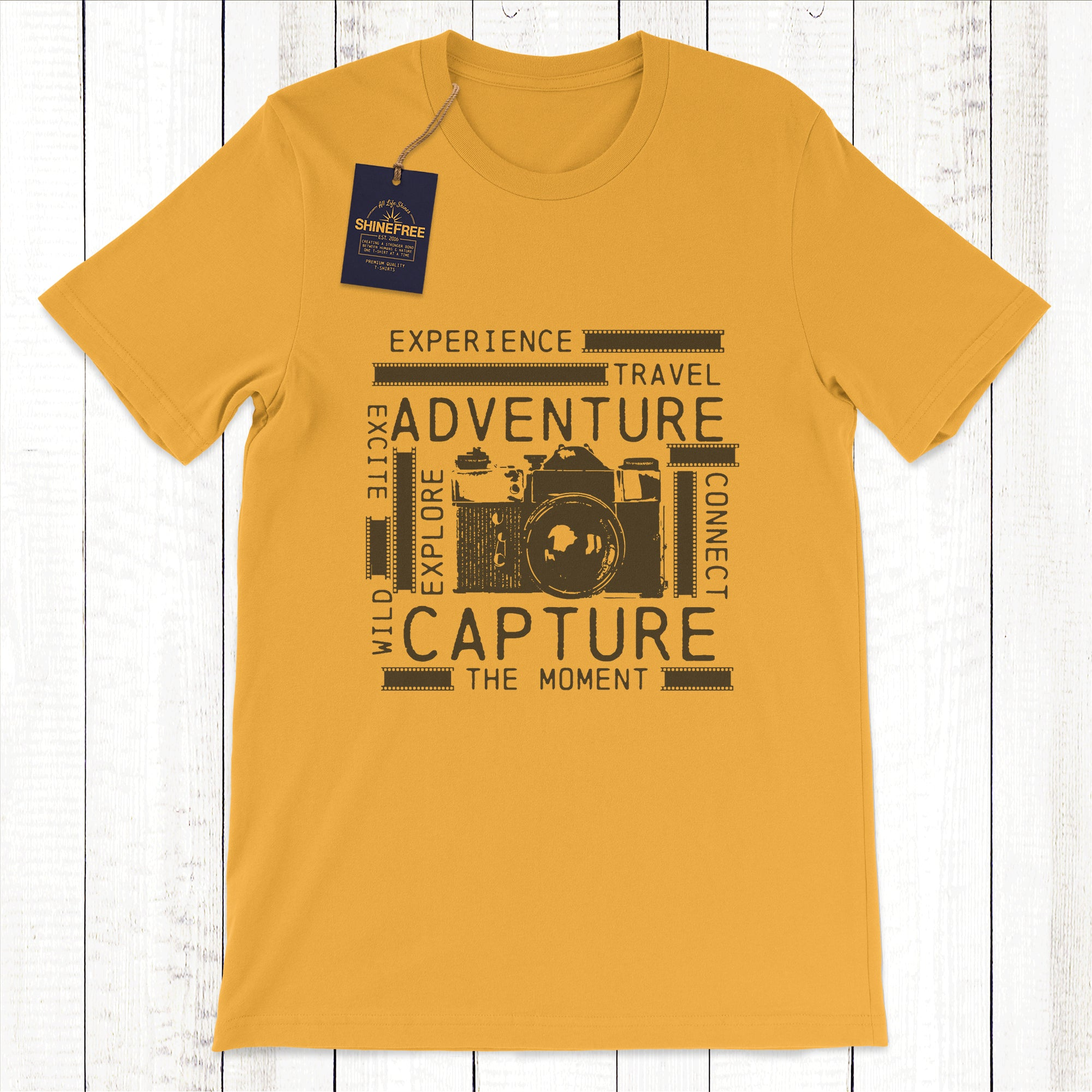 Vintage Camera - Capture the Moment t-shirt
