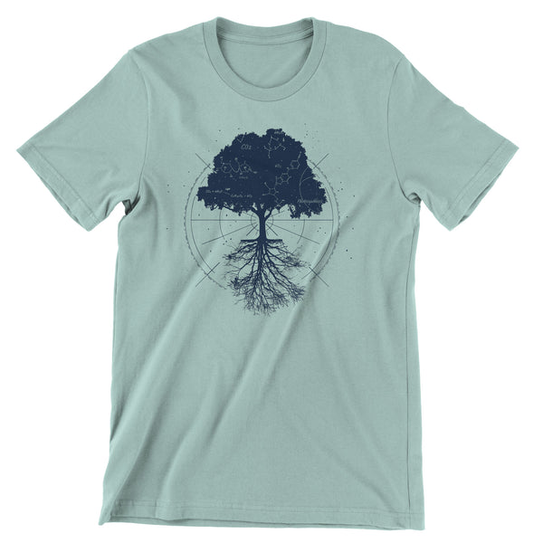 Photosynthesis Star Map t-shirt
