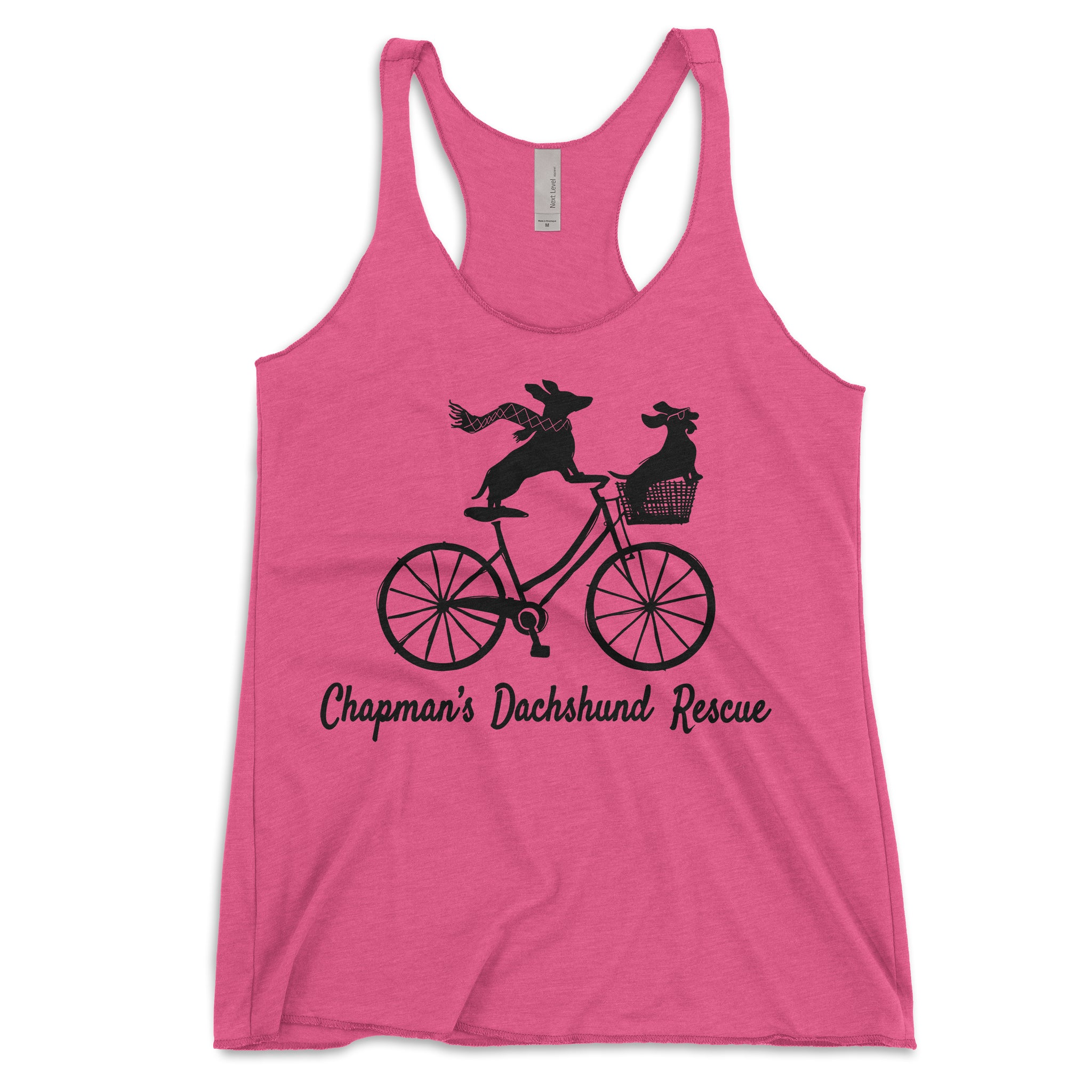 Doxies Riding Bicycle - CDR Tank Top