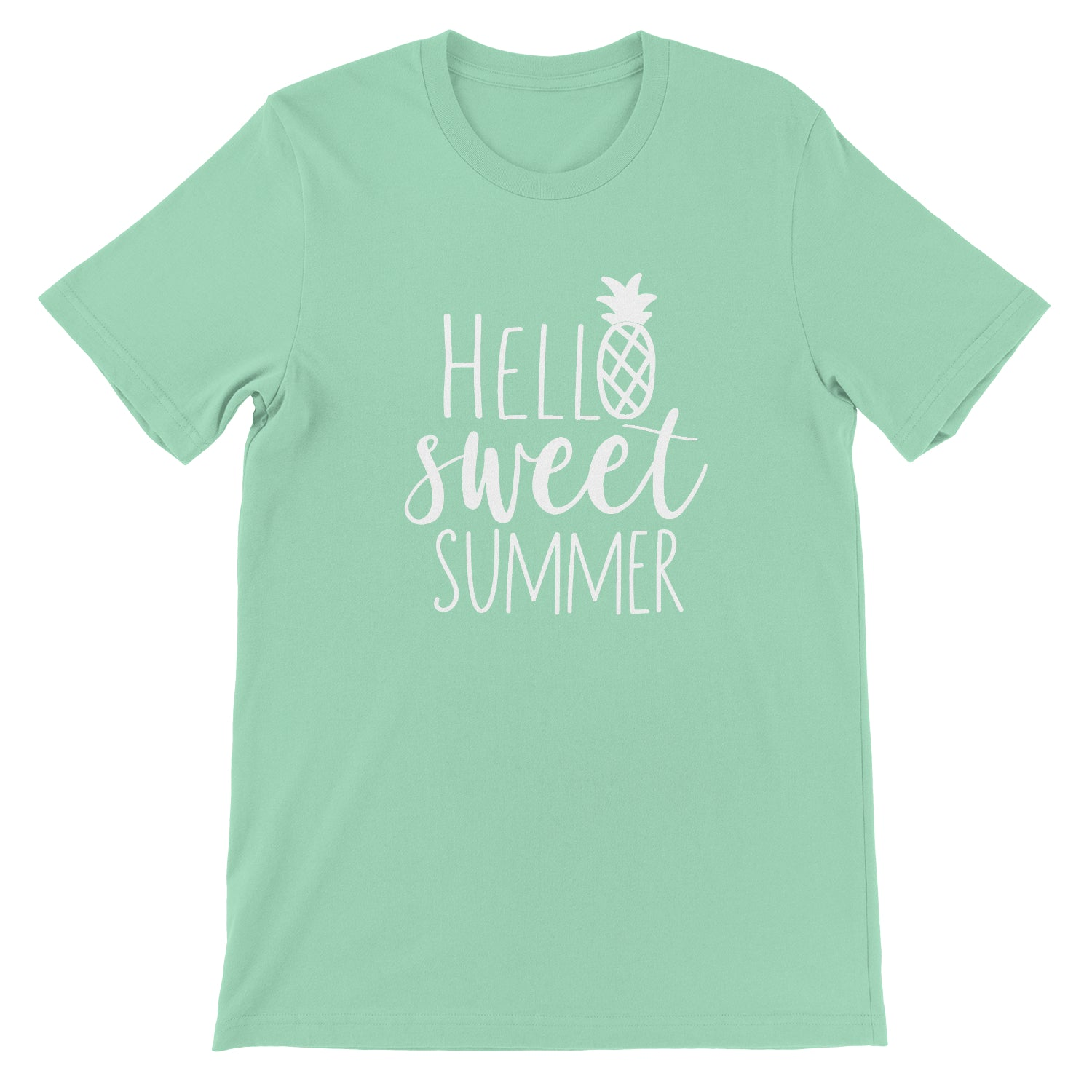 Hello Sweet Summer Unisex Soft Tee