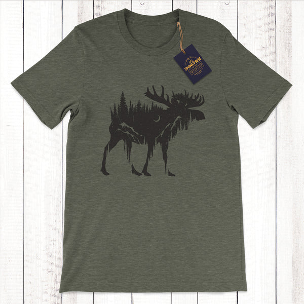 Moonlight Moose t-shirt
