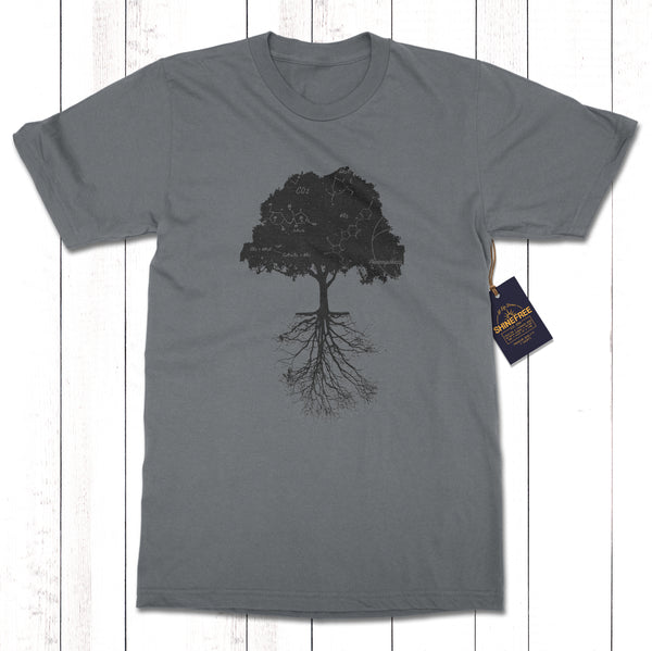 Photosynthesis Tree Constellation 100% Certified Organic Cotton t-shirt