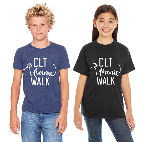 CLT Weenie Walk - Youth T-shirt