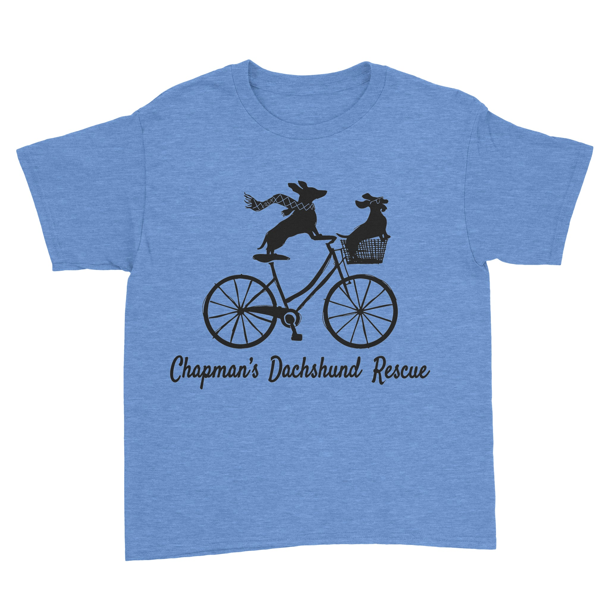 Doxies Riding Bicycle - CDR Youth Tee