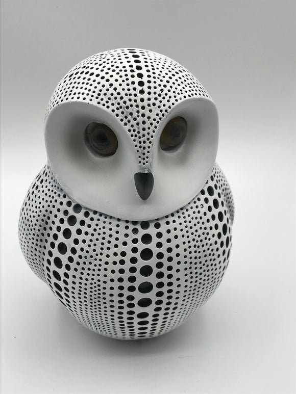 DEBOSSED OWL WHITE