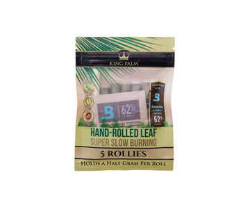 KING PALM ROLLIES - 5pack (Holds .5 grams each)