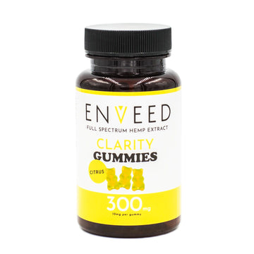 Full Spectrum CBD Clarity Gummies - For Focus - 10mg each (30ct Bottle)